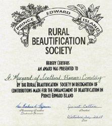 RURAL BEAUTIFICATION AWARD 2010 250px